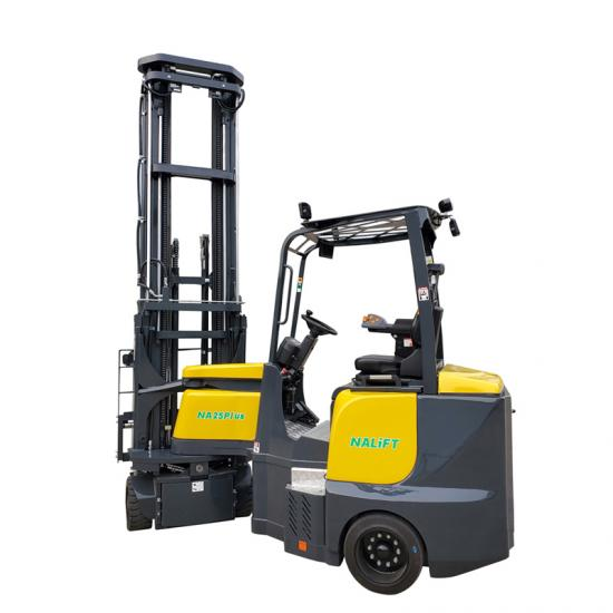2500kg 8m articulated forklift trucks